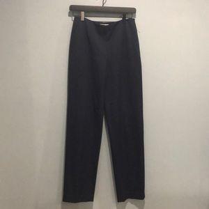 Talbots navy blue stretch dress pants